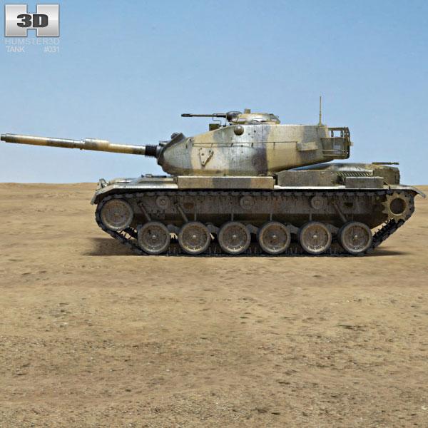 3d models vehicle tank main battle tank patton tank wwwturbosquidcom