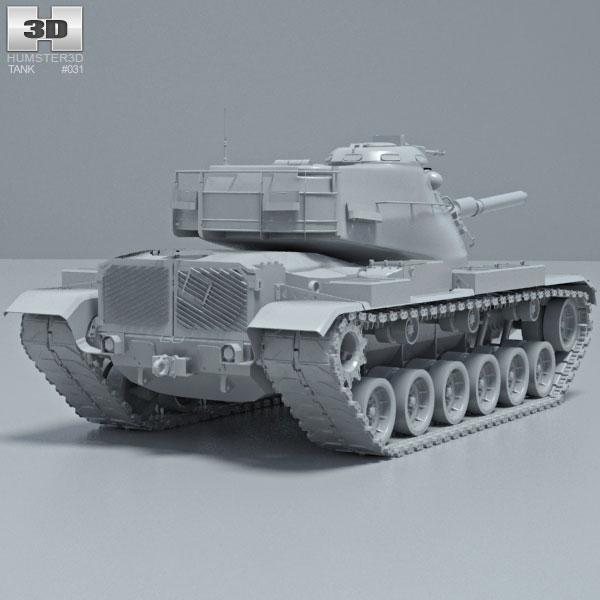 M60a3 3d models