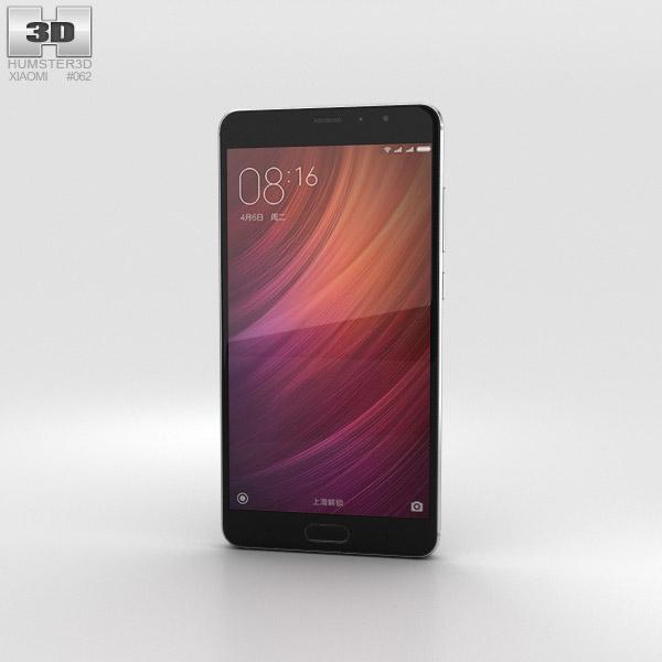 XiaomiRedmiProGray3dModelElectronicsOnHum3d