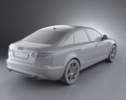 Audi A6 (C6) sedan 2011 3d model