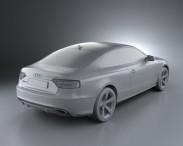 Audi RS5 2011 3d model