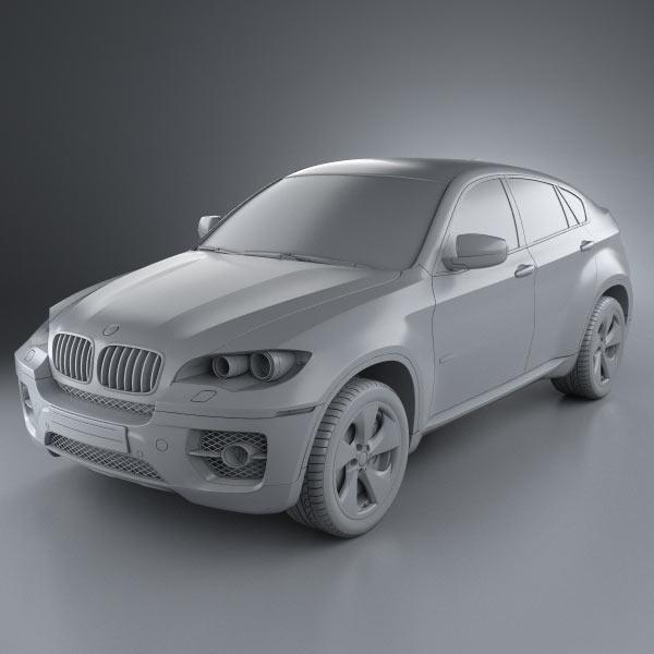 Bmw X6 Problems Forum: BMW X6 2011 3D Model
