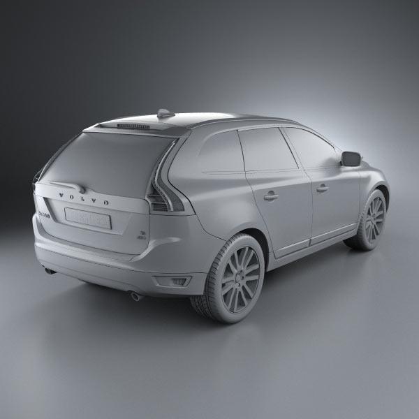 Volvo Sc 60: Volvo XC60 3D Model