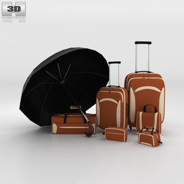 Bag set 3d model