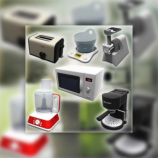 Kitchen Tools Set 3d model