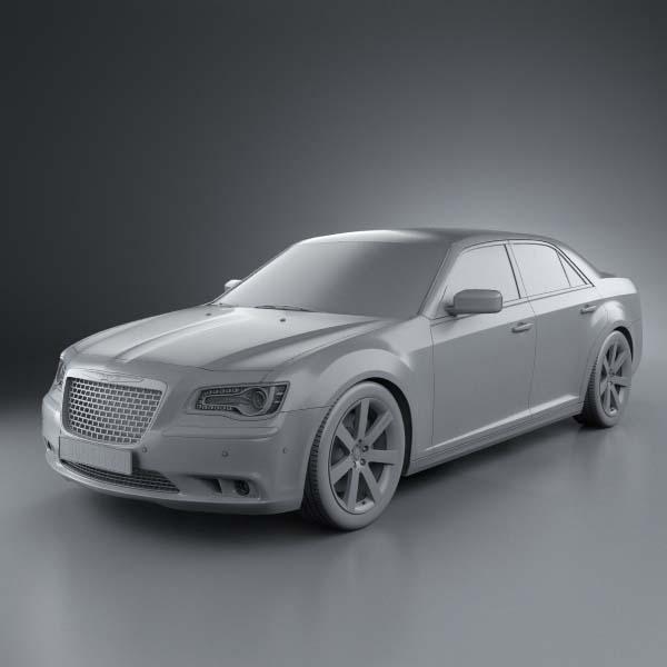 Chrysler 300 Srt8 2012 By Humster3d