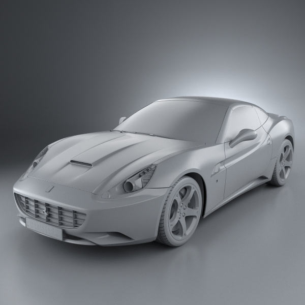 Ferrari F430 Scuderia 2009 3d Model For Download In: Ferrari California 2009 3D Model