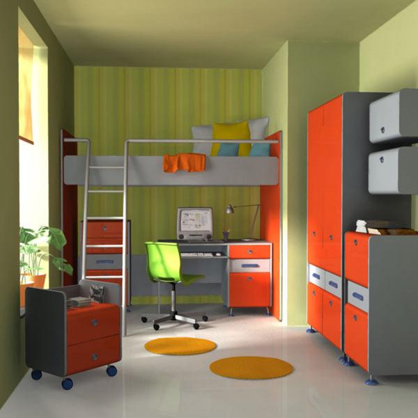 Nursery Room 3 3d model