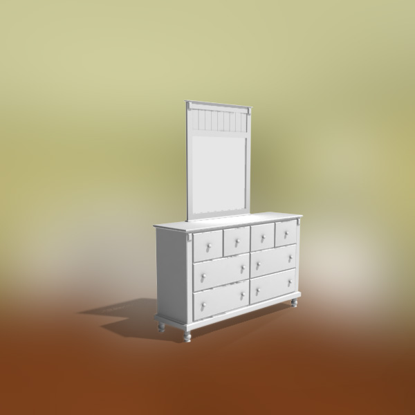 Bedroom Furniture 06 Set 3d Model Hum3d