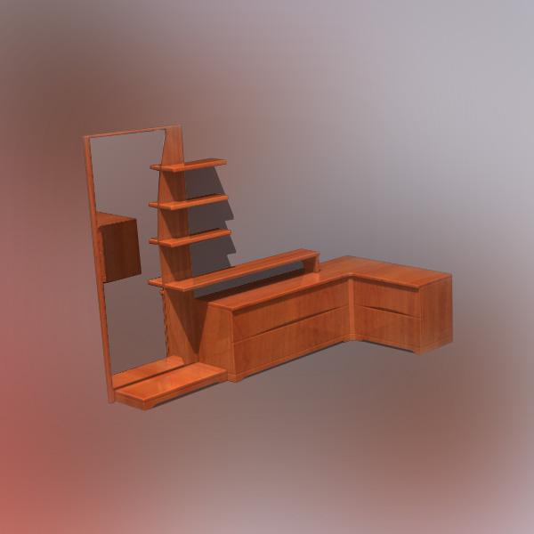 Bedroom Furniture 05 3d Model Hum3d