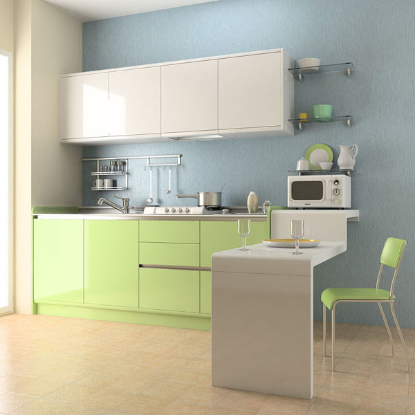 Cartoon Kitchen Furniture: Kitchen Set 03 3D Model