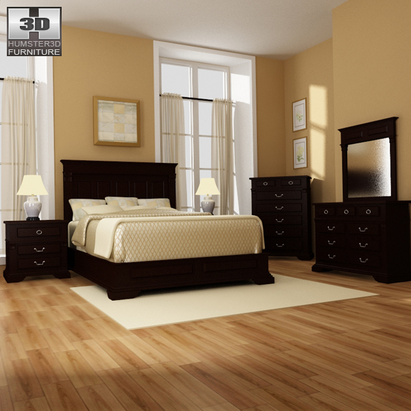 Bedroom Furniture 14 Set 3d Model Hum3d