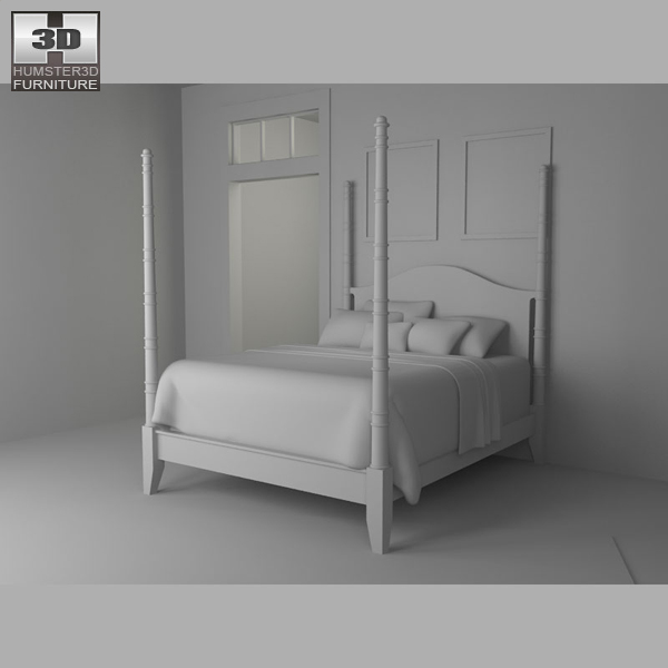 Bedroom furniture 15 set 3d model hum3d for Best rated bedroom furniture