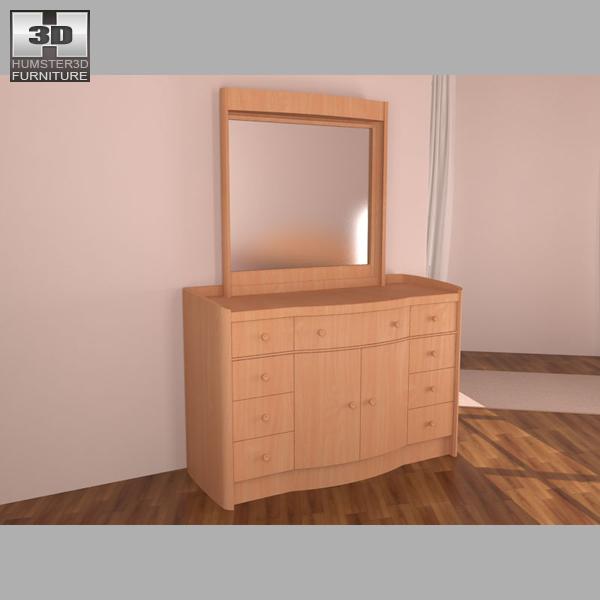 Bedroom Furniture 16 Set 3d Model Hum3d