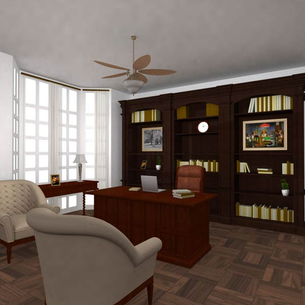 Office Set 25 Classic 3d model