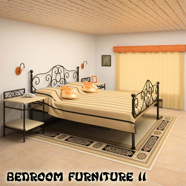 Bedroom Furniture 11 Set 3d Model Hum3d