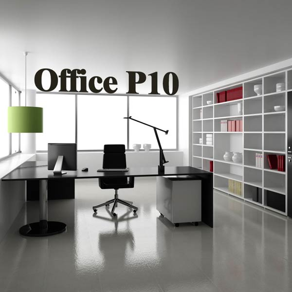 Office Set P10 3d model