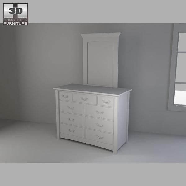 Bedroom Furniture 23 Set 3d Model Hum3d