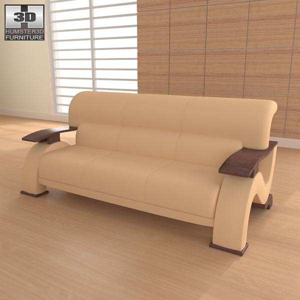 Living Room Furniture 06 Set 3d Model Hum3d