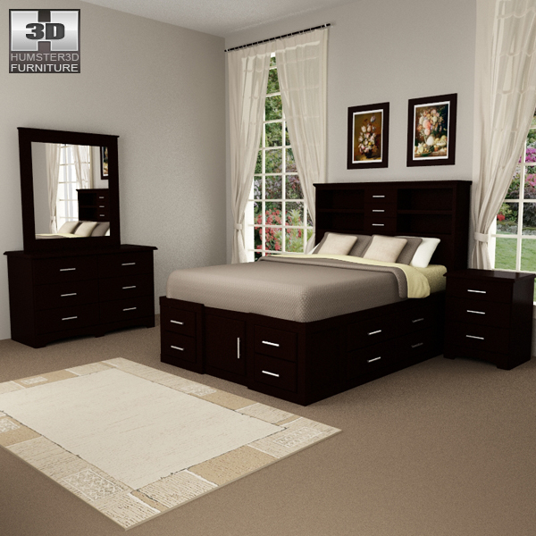 Bedroom Furniture Set Model