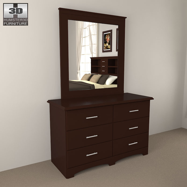 Bedroom furniture 24 set 3d model hum3d for Best rated bedroom furniture