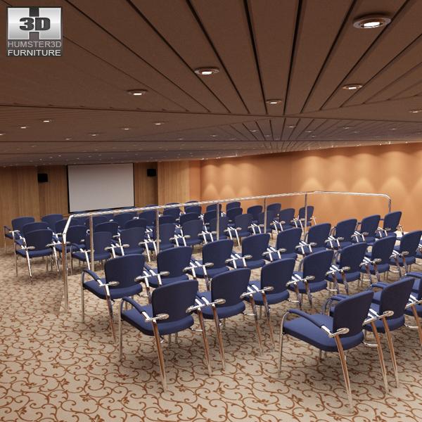 Conference Room 3d Model Furniture On Hum3d