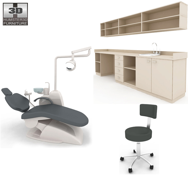 Dental Surgery – Hospital 03 Set 3d model