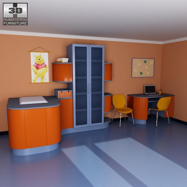 Nursery Room 08 Set 3d model