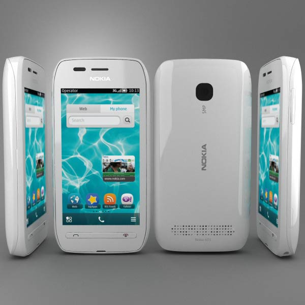 Nokia 603 3d model