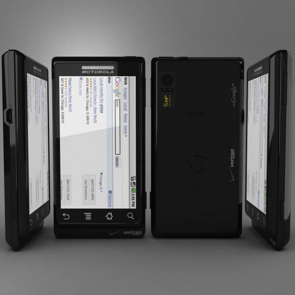 Motorola Droid A855 3d model