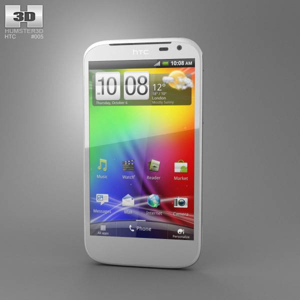 HTC Sensation XL 3d model