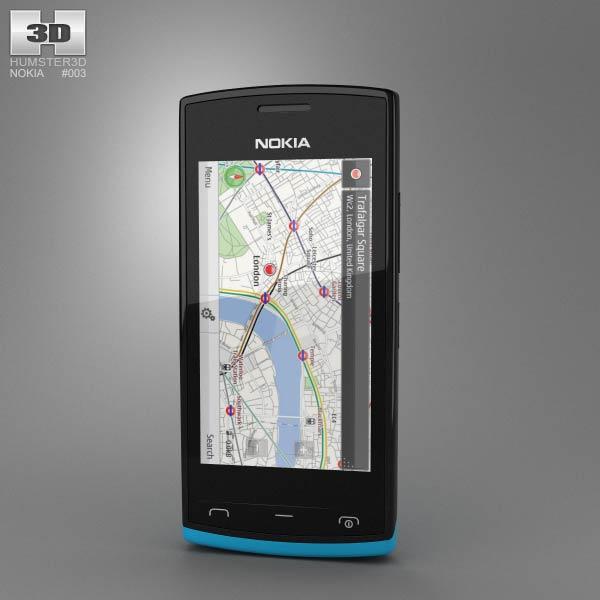 Nokia 500 3d model