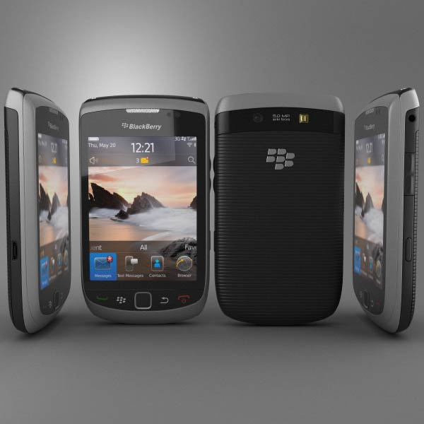 BlackBerry Torch 9800 3d model