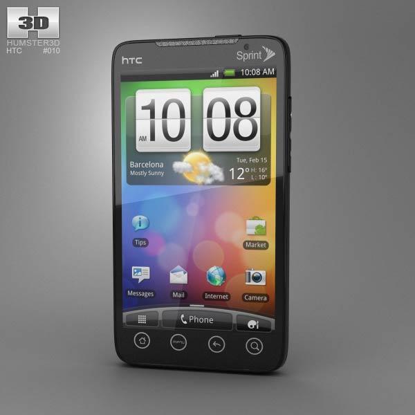 HTC Evo 4G 3d model