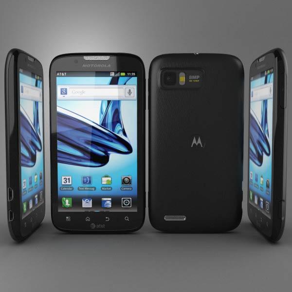 Motorola Atrix 2 3d model
