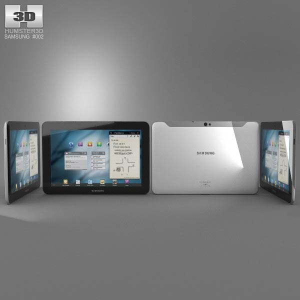 Samsung Galaxy Tab 10.1 3d model