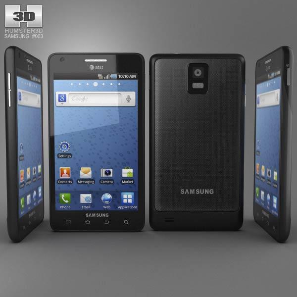 Samsung Infuse 4G 3d model