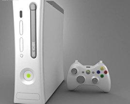 Microsoft X-Box 360 3D model