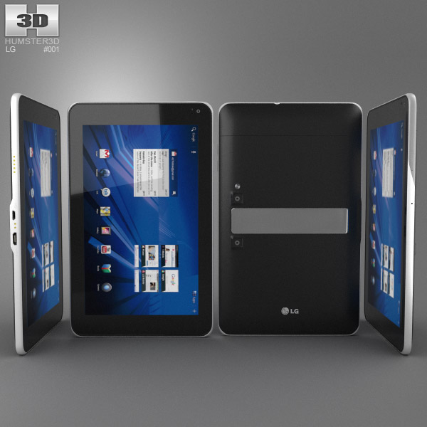 LG Optimus Pad 3d model