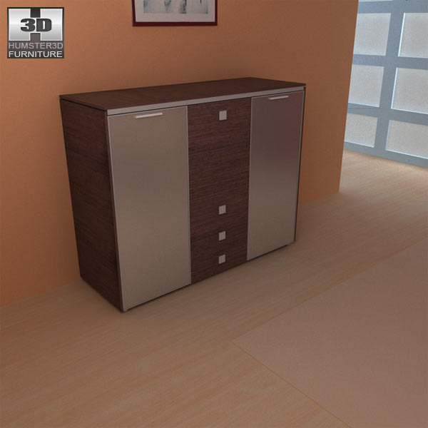 Living room furniture 10 set 3d model hum3d - Desks small space model ...