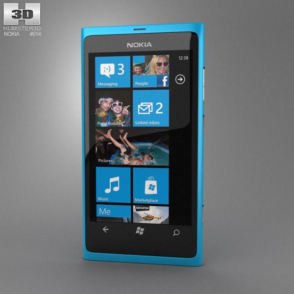 Nokia Lumia 800 3d model