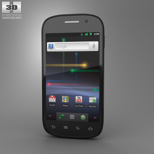 Samsung Nexus S 3d model