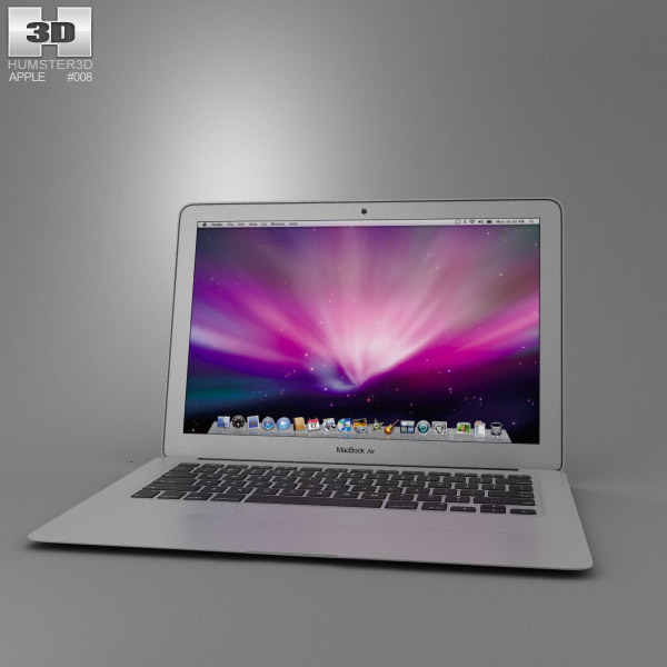 Apple MacBook Air 13 inch 3d model
