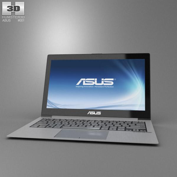 Asus Zenbook UX21 3d model