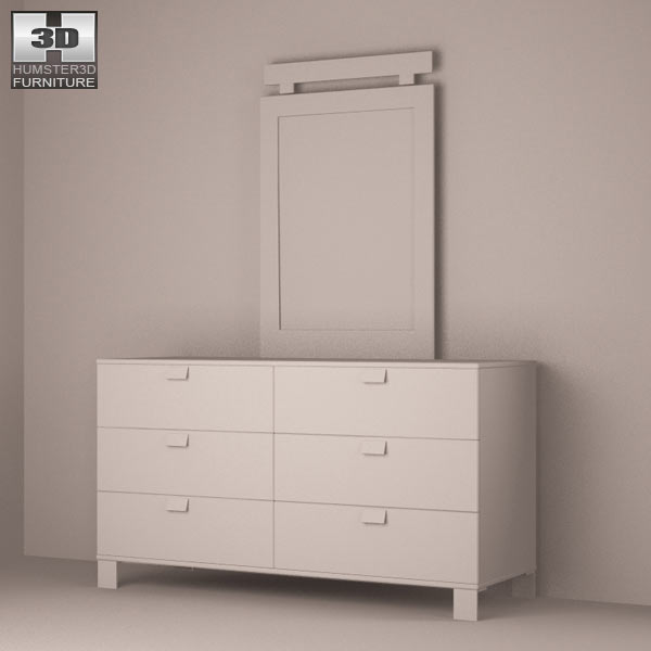 Bedroom furniture 25 set 3d model hum3d for Best rated bedroom furniture
