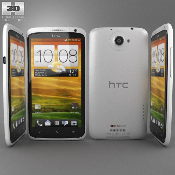 HTC One X 3d model
