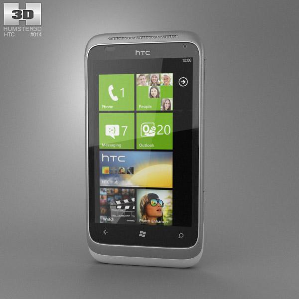 HTC Radar 3d model