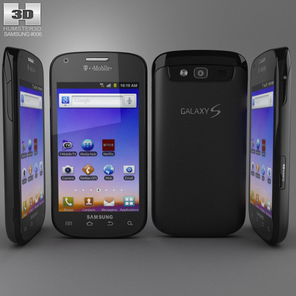 Samsung Galaxy S Blaze 3d model