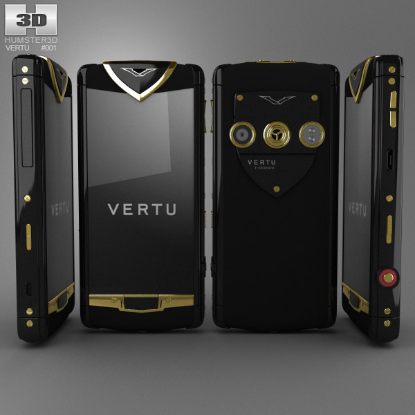 Vertu Constellation 3d model