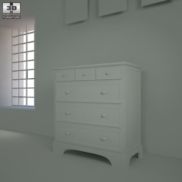 Bedroom furniture 28 set 3d model hum3d for Best rated bedroom furniture